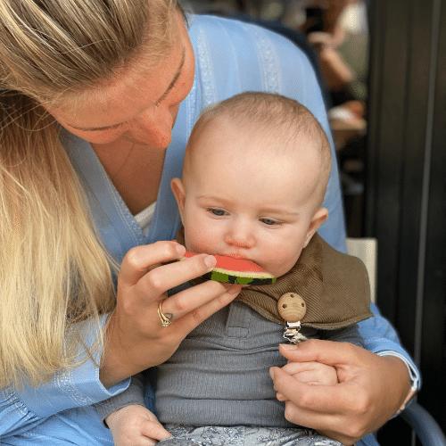 Baby med vandmelon