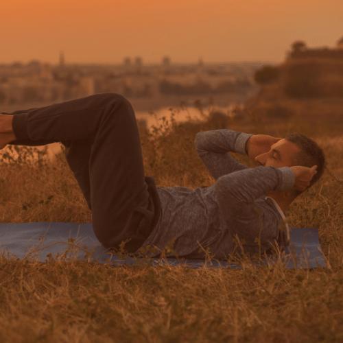 Mand laver yoga