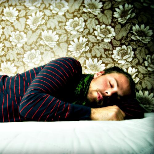 sovende mand